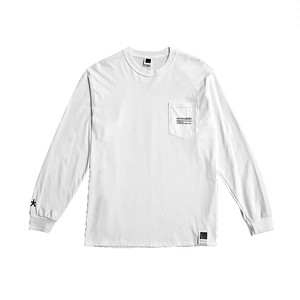 5star Long Tee by Eric Haze White