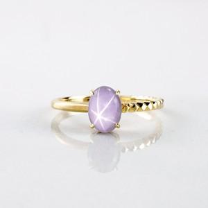 Star Sapphire Ring(R366-PSS)