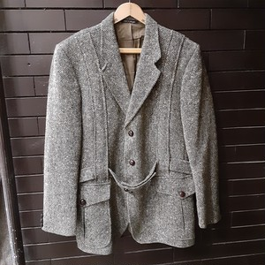 """Gerrard Marlboro"" ""Donegal Tweed"" Norfolk Tweed Jacket  ノーフォーク ツイードジャケット"