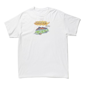 CHECKS Lowrider T-shirt(White)