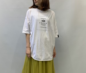 DOUBLE STANDARD CLOTHING(ダブルスタンダードクロージング) ヴィンテージレアルツイストワイドシルエットTシャツ 2021夏物新作[送料無料]