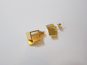 (IKUO)gold 2way ピアス
