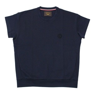 Drop Shoulder Short Sleeve Sweat  Shirt ‐navy < LSD-15S-T001 >