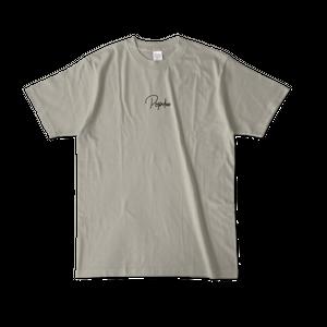 POPdeeロゴTシャツ2020 シルバーグレー