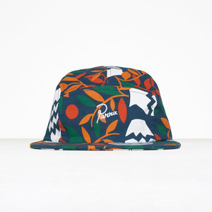 by Parra - 5 panel volley hat still life with plants