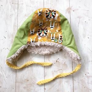 あったか冬帽子(中サイズ・52くらい)ライオン