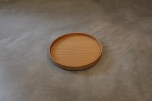 円居という名の木の器 φ180皿 山桜