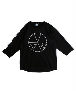 "VIRGOwearworks / ヴァルゴウエアワークス | "" EDY CIRCLE "" Print 7s-T black"