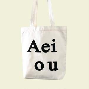 [Aeiou] logo bag (全3色)