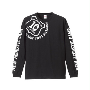 NAC19 LOGOTYPE long tee / BLACK