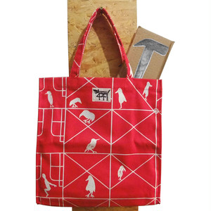 tote bag / large / scaffolding#01