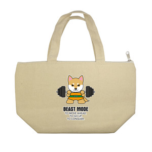 【BEASTMODE】ランチトートバッグ 柴犬