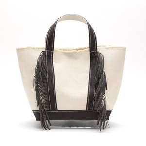 SideFringeToteBag[M] / GrayBrown