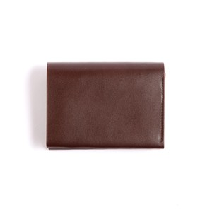 Postalco/Pressed Cotton Card & Coin Wallet/Olive Green【店頭在庫あり】
