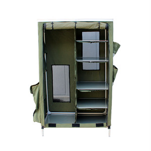USED / French ARMY Folding Cabinet
