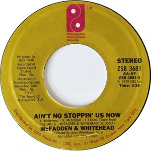 McFadden & Whitehead – Ain't No Stoppin' Us Now / I Got The Love