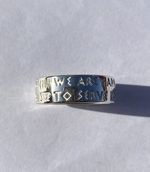 """New York """"Anthora"""" Ring/ Silver925 / IN-PUT-OUT"""