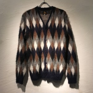 Needles(ニードルズ)2017FW Mohair Cardigan-Diamond