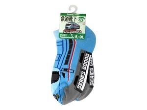 電車靴下キッズ小田急60000形MSE
