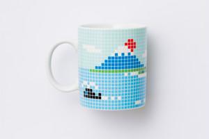 富士山 マグカップ 大 / THe Porcelains