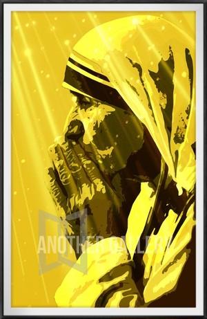 gold~Mother Teresa