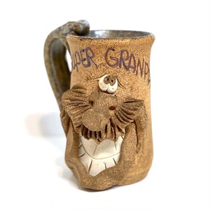 FACE MUG ''SUPER GRANDPA'' (SA033)