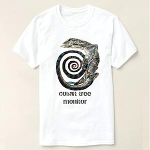 コバルトツリーモニター T-shirt 『霞』 油彩画作品使用