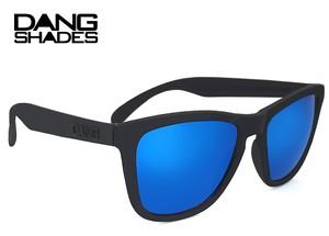 DANG SHADES (ダン・シェイディーズ) サングラス vidg00026-2 ORIGINAL RAISED DangShades ミラーレンズ メンズ レディース ウェリントン ブルーミラー