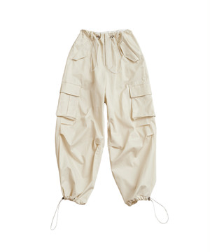 RYO TAKASHIMA × BEST PACKING STORE VENTILE MILITARY PANTS Ivory