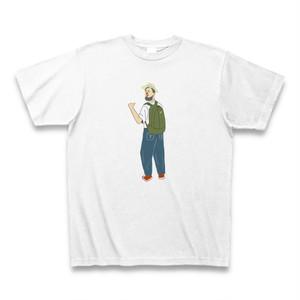 リンカーンおじさん Tシャツ