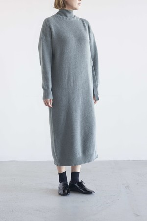 Audrey and John Wad high neck knit onepiece