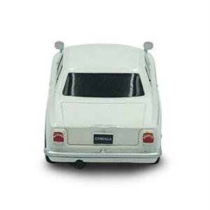 トヨタ博物館オリジナルプルバックミニカー 初代カローラ(白)
