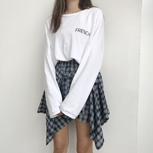 【お取り寄せ商品】loose Tshirt + skirt set 5280