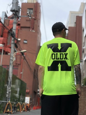 Big X dry T-shirt NEON YELLOW