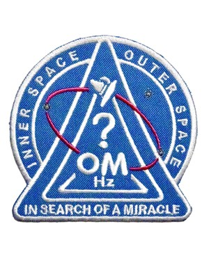 OM Official Logo Patch