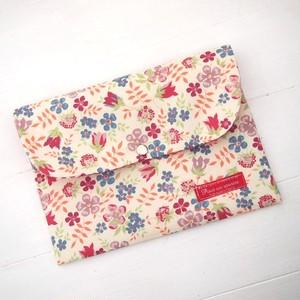 リバティ 母子手帳ケース エディナム/ピンク(廃版) B6サイズ