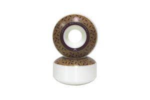CRUPIE WHEELS BROWN LOGO 5PACK 52mm