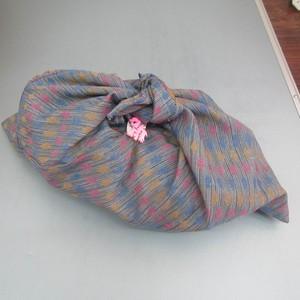 着物生地リメイク  あづま袋 [2142]