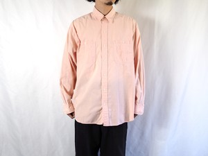 1990's Eddie Bauer シャンブレーシャツ L ピンク