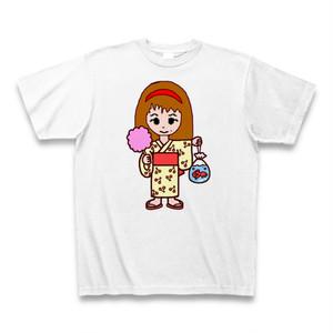 Irieキャラ手書き似顔絵夏祭りサンキューTシャツ