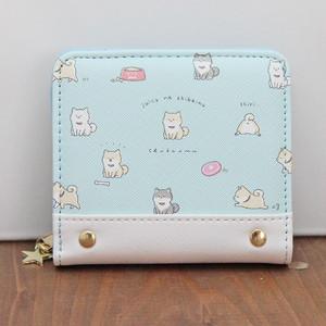 ジューシーなシバイヌ 二つ折り財布(柴犬)【crx-67303】