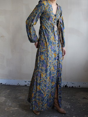 70s london vinatge  dress