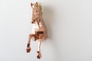馬(銅板・真鍮板製)