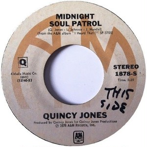 Quincy Jones – Midnight Soul Patrol / Brown Soft Shoe