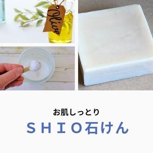 人気No.2  SHIO石けん 100g お肌しっとり Herb・Room leaf 肌にやさしいソープ 碧ものがたり