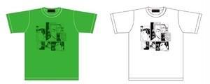 """「佐藤タカヒロ原画展」""""空流一門""""Tシャツ"""