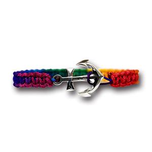 【メール便送料無料/翌日発送】Anchor Bracelet Large Multi【品番 19S2004】