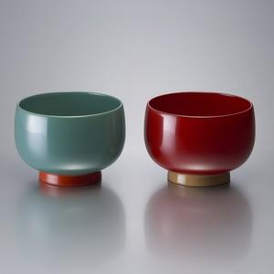 小鉢(モスグリーンとレッド)[0130211996]