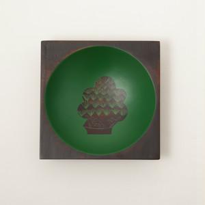 香川漆器 さぬき角丸ボウル うるし絵 6種類 中田漆木