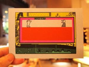 『オリジナル』オールドコンピュータゲーム絵はがき「コンバット」
